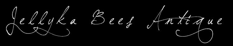 Jellyka Bees Antique Handwriting