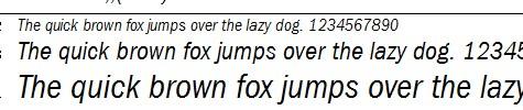 ITCFranklinGothic全套字體下載,係列字體打包下載