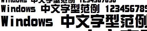 华康新综艺体W9