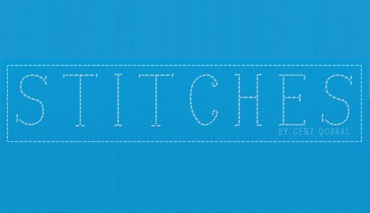 Line stitch fonts free download