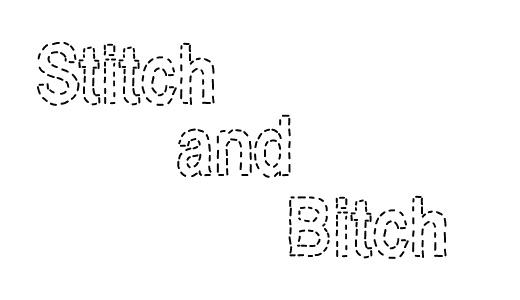 Cool stitch fonts free download