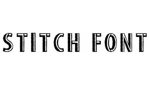 Shadow stitch fonts free download