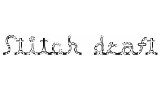 Symbols cursive stitch fonts free download