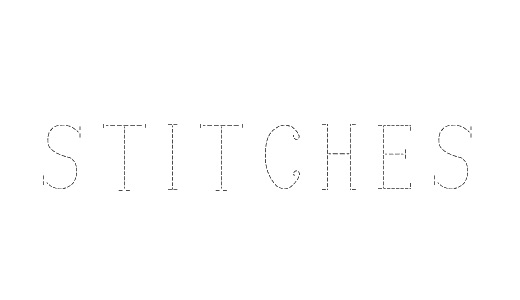 Single line simple stitch fonts free download
