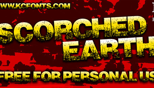Scorched Earth<br /><br /><br /> http://www.dafont.com/scorched-earth.font